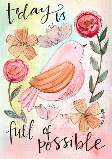 Full of Possible by Katie Doucette art print