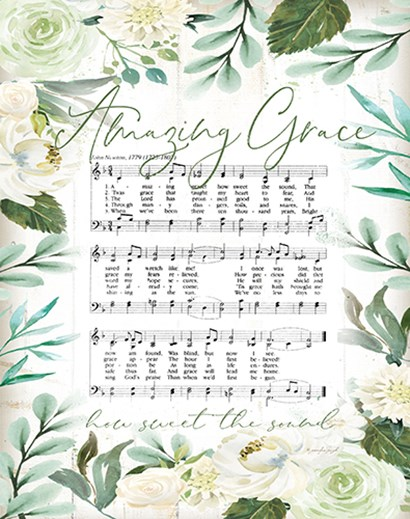 Amazing Grace II by Jennifer Pugh art print