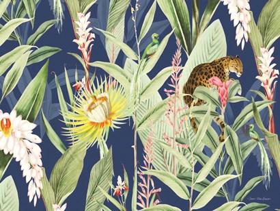 Leopard Flowers by Seven Trees Design art print