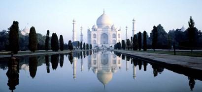 India, Agra, Taj Mahal by Panoramic Images art print