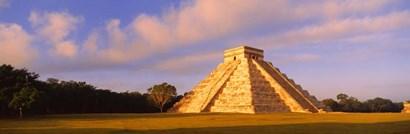 El Castillo Chichen Itza Yucatan Mexico by Panoramic Images art print