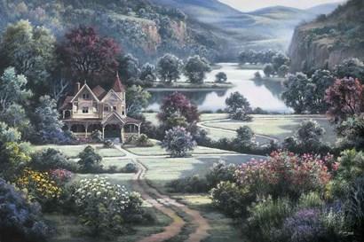 Country Manor by Dubravko Raos art print
