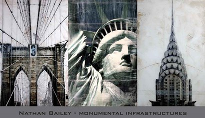 Monumental Infrastructures by Nathan Bailey art print