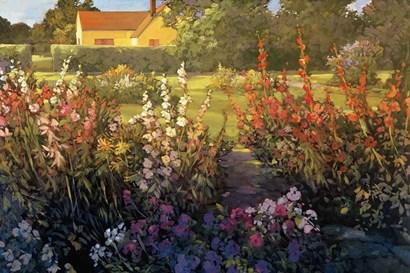 Farm Garden by Philip Craig art print