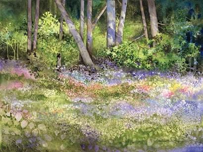 Springtime Woods by Kathleen Parr McKenna art print
