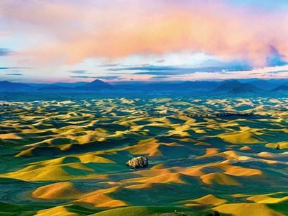 Farmscape Photo II by James McLoughlin art print