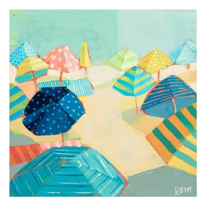 Bright this Way by Dora Knuteson art print