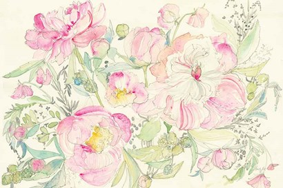 Peony Garden by Kristy Rice art print