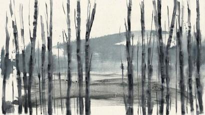 Fluid Treeline I by Jennifer Goldberger art print