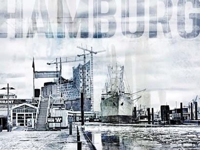 Hamburg II by A.V. Art art print