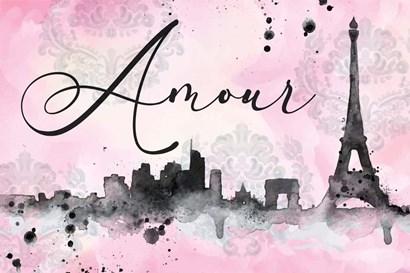 Amour by ND Art & Design art print