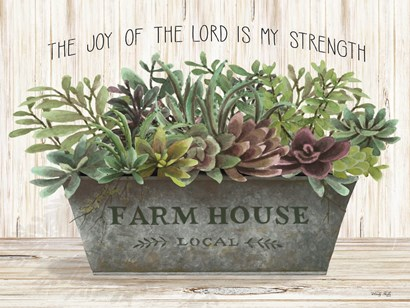 The Joy of the Lord by Cindy Jacobs art print