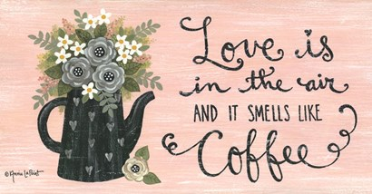 Love is in the Air by Annie Lapoint art print