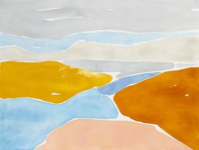 Luminous Coastline I by Rob Delamater art print