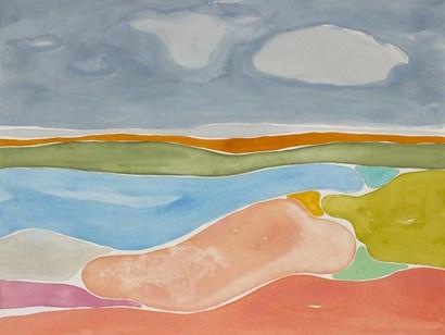 Luminous Coastline II by Rob Delamater art print