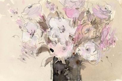 Mauve Arrangement I by Sam Dixon art print