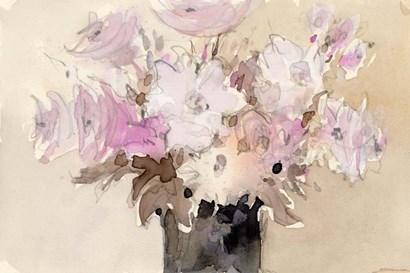 Mauve Arrangement II by Sam Dixon art print