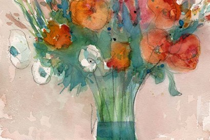 Abundant Bouquet II by Sam Dixon art print