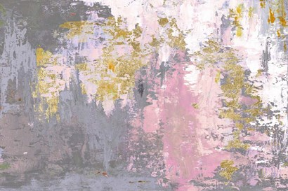Pink Magic Abstract by Patricia Pinto art print