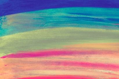 Rainbow Abstract by Kali Wilson art print