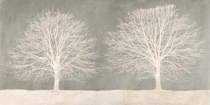 Trees on Grey by Alessio Aprile art print