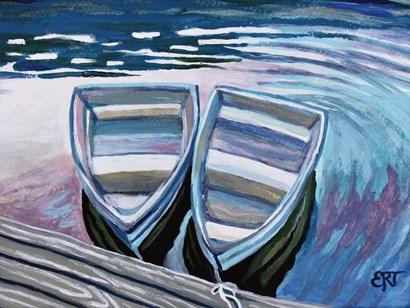 Side by Side by Elizabeth Tyndall art print