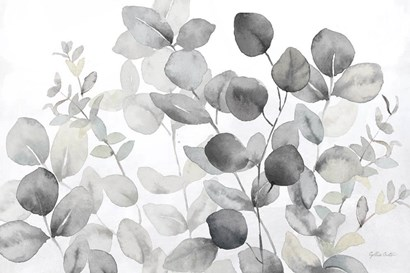Eucalyptus Leaves landscape neutral by Cynthia Coulter art print