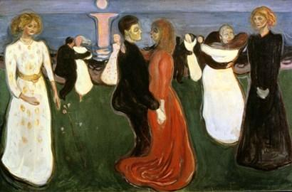 The Dance of Life, 1899-1900 by Edvard Munch art print
