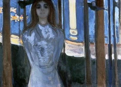 The Voice, 1893 by Edvard Munch art print
