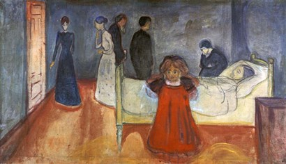 The Dead Mother and Child, 1897-1899 by Edvard Munch art print