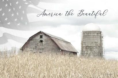 America the Beautiful by Lori Deiter art print
