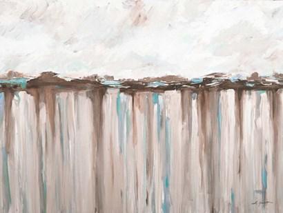 Ocean Hues by L. Hewitt art print