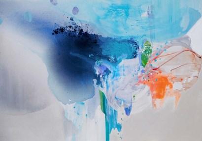 Chasing Corals by Lina Alattar art print