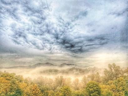Fog on the Mountain by Kathy Jennings art print