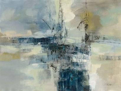 Sea Port by Silvia Vassileva art print