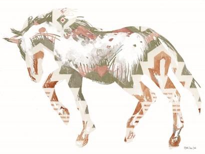 Navajo Horse 2 by Stellar Design Studio art print