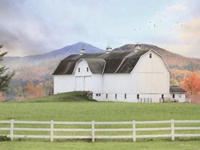 Adirondack Farm by Lori Deiter art print