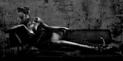 Dark Lady by VizLab art print