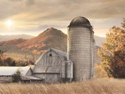Autumn at the Farm by Lori Deiter art print