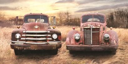 I Like Big Trucks by Lori Deiter art print
