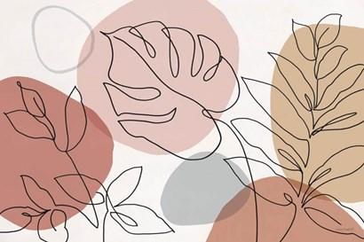 Just Leaves 01 by Lisa Audit art print