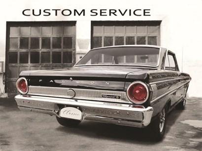 1964 Ford Falcon by Lori Deiter art print