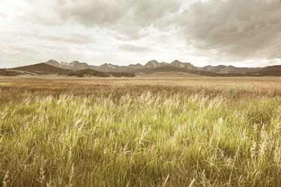Sawtooth Mountains Idaho II by Alan Majchrowicz art print