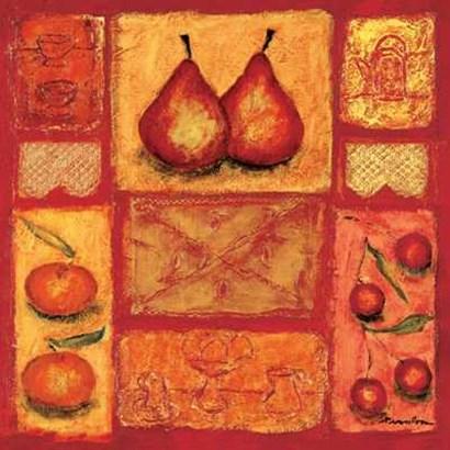 Cuisine I by Francoise Persillon art print