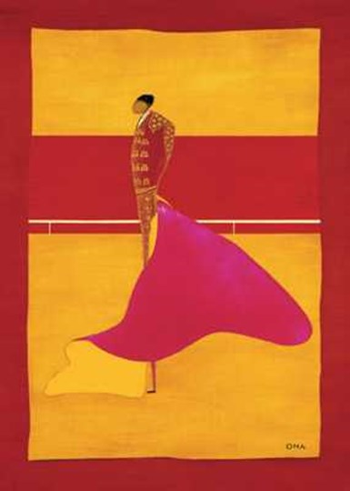 Torero a La Cape I by Thierry Ona art print