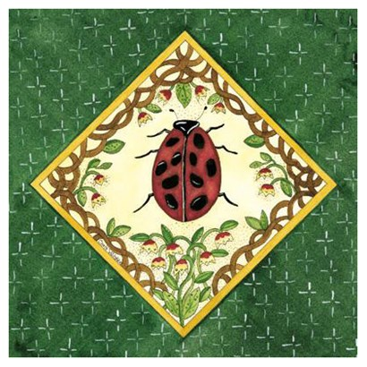 Lady Bug by Chris Wilsker art print