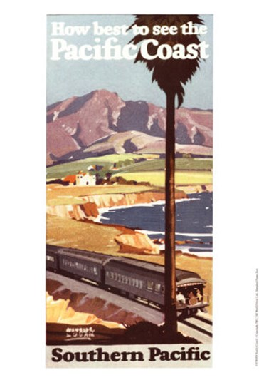 Pacific Coast I art print