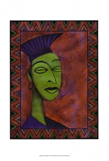 African Beauty I by Renee Stramel art print