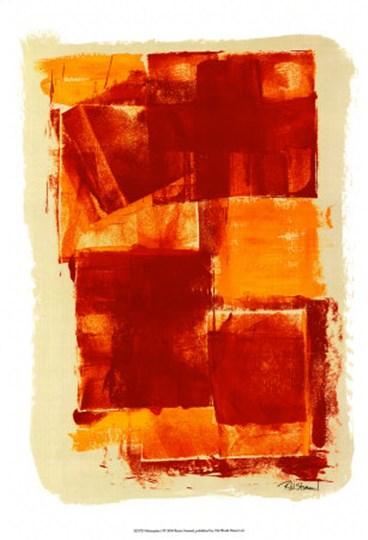 Monoprint I by Renee Stramel art print