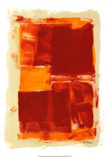 Monoprint II by Renee Stramel art print